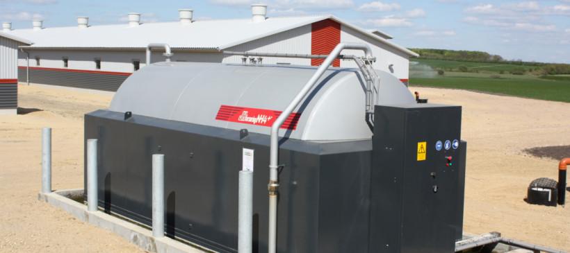 Slurry acidification pig farmers