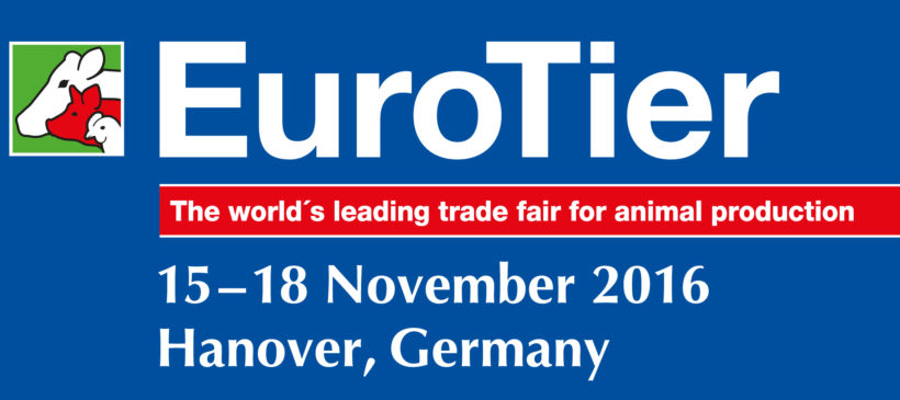 We are exhibiting at EuroTier November 15-18, 2016